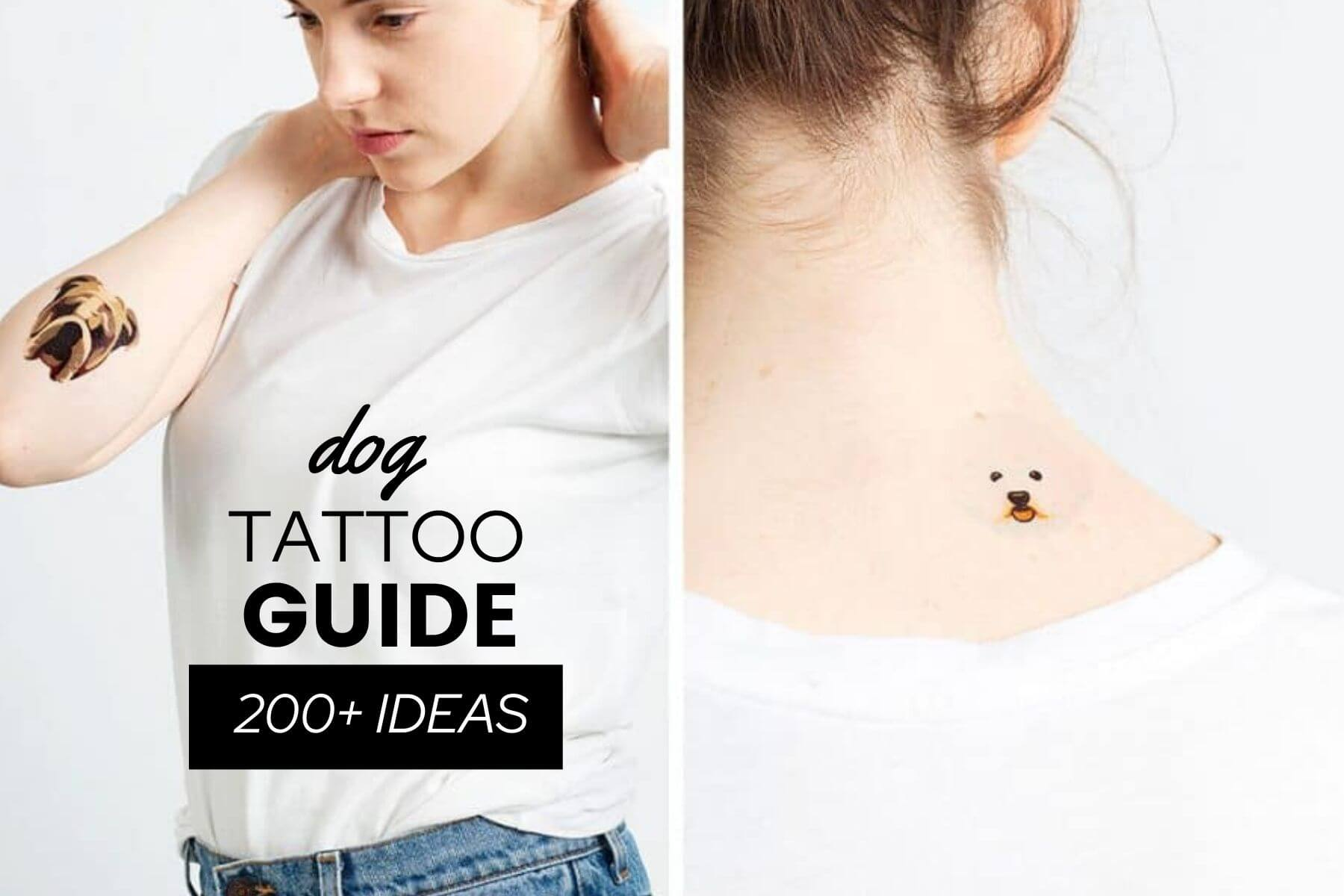 Dog Tattoo Guide With 200 Ideas That Are Actually Good Canine Bible